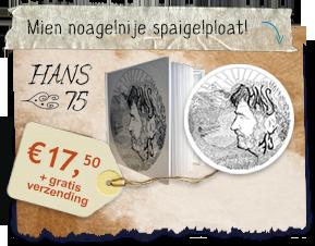 Hans van der Lijke Nieuwe CD Hans 75
